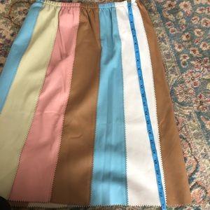 Vintage Skirts - Vintage Cynthia Rowley Leather Skirt Size 10